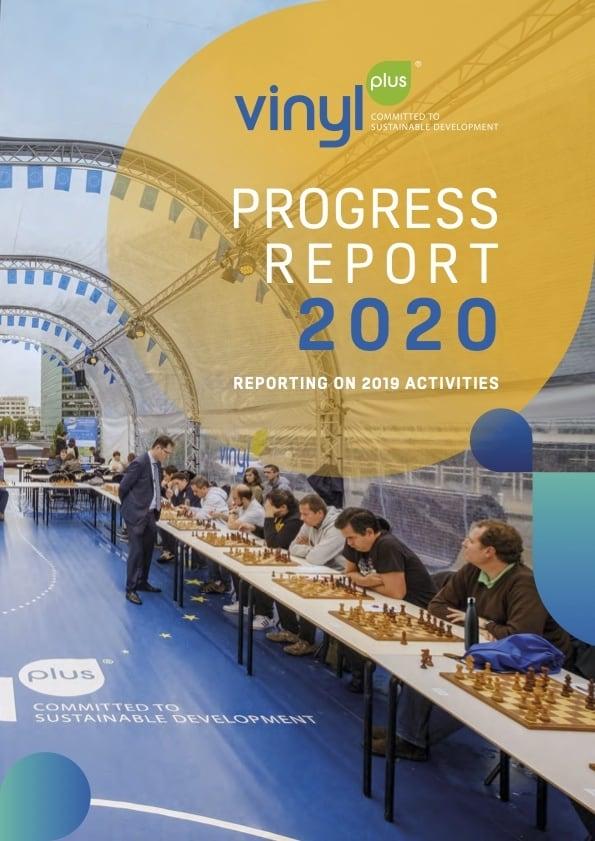 vinylplus progress report 2020 cover